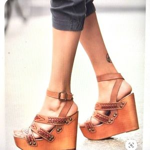 Jeffrey Campbell x Free People Wedge Heel Sandals